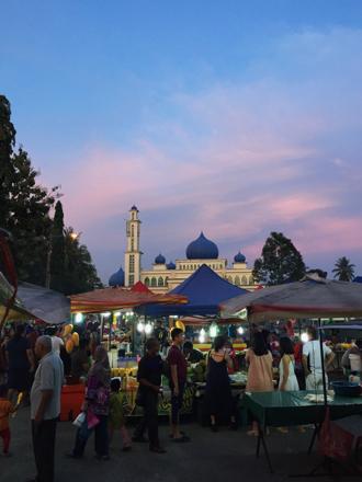 Ula Melaka night market on Langkawi, Malaysia